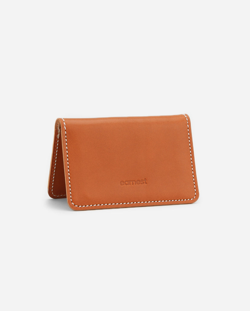 Crawford Leather Cardholder - Chestnut