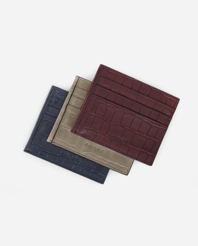 Hyde Cardholder - Deep Navy