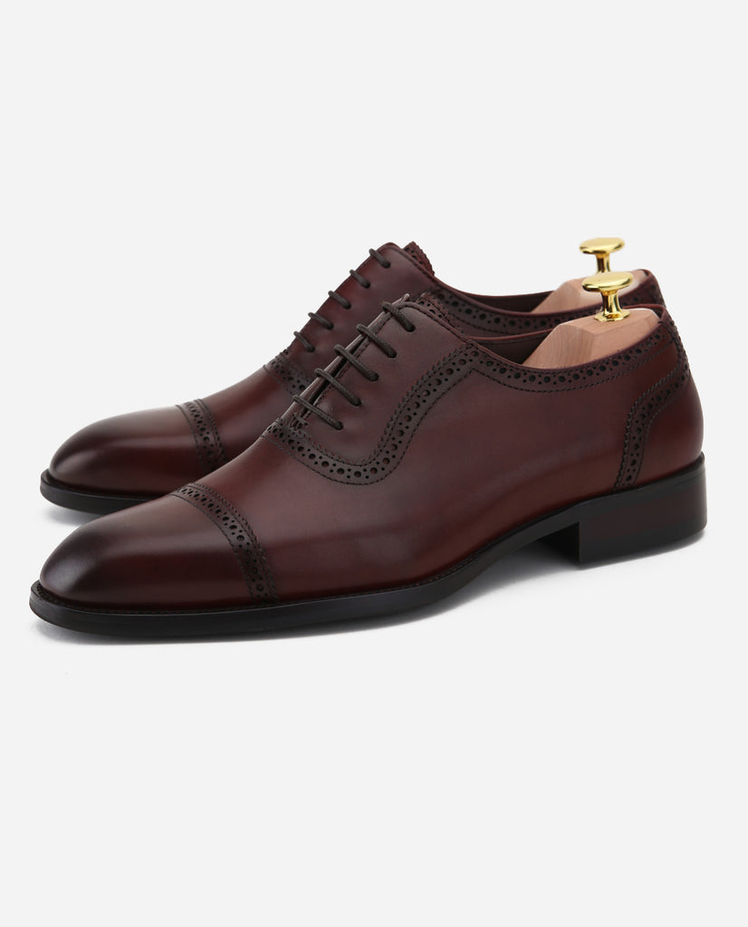 Balmoral II - Burnished Oxblood