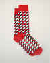 Weave Sock - Red
