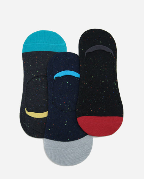 Speckle No-Show Socks (Pack of 3)