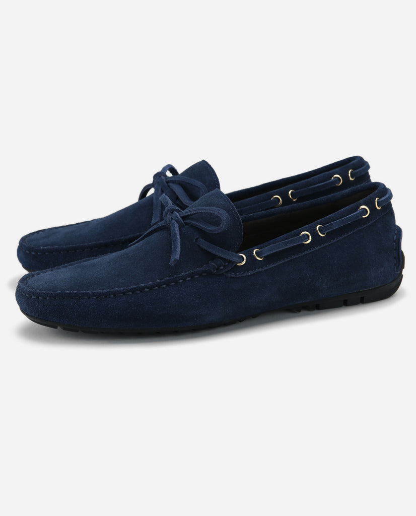 Parker - Midnight Blue Suede