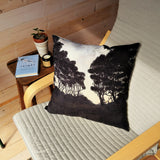 Scenic Painterly Cushion-Evening Pohutukawas