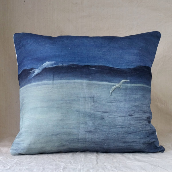 Misty Harbour Cushion