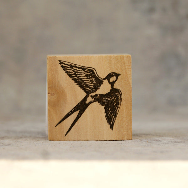 Swallow stamp