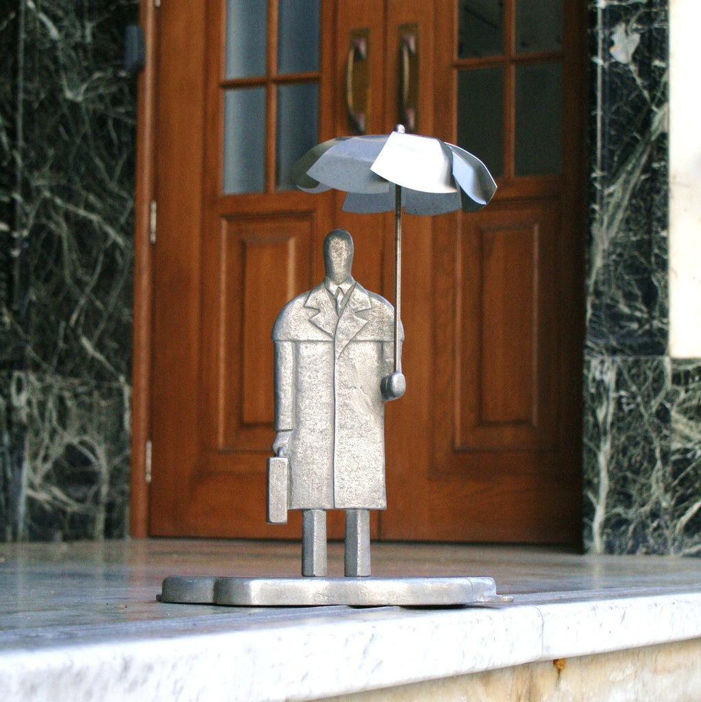 Umbrella Man Wind Sculpture