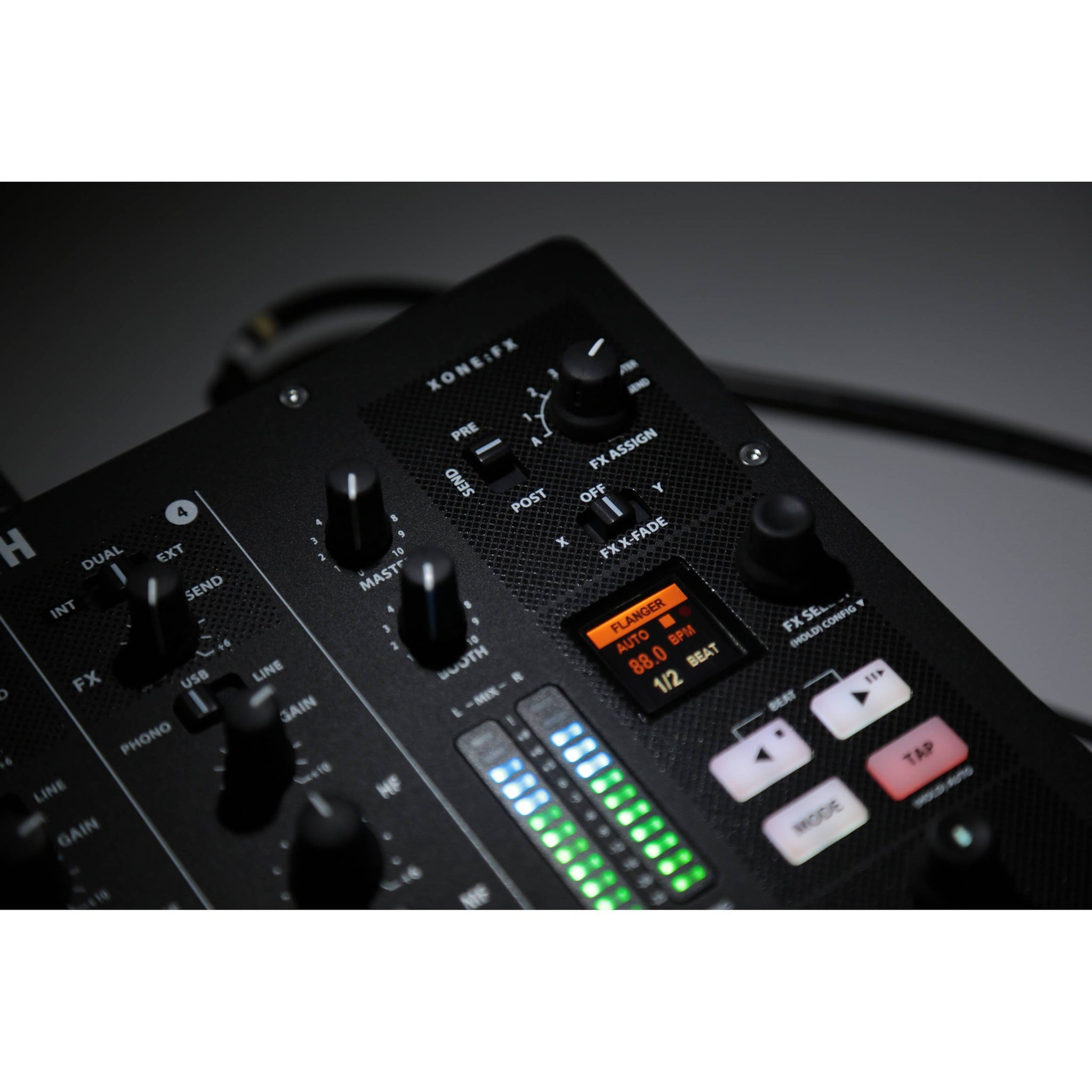 Allen and Heath XONE PX5 4 Channel DJ Mixer with Soundcard