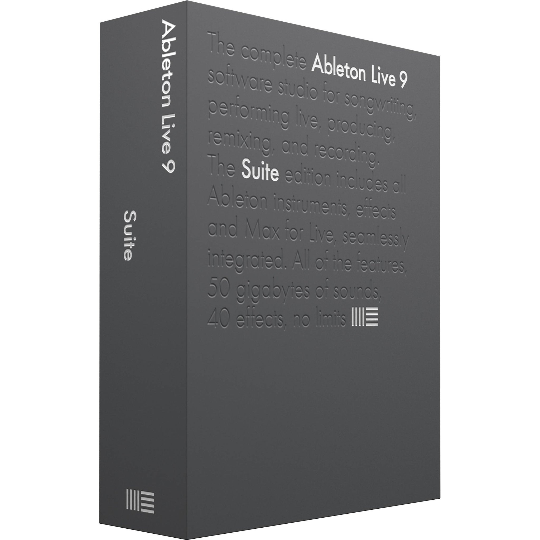Ableton Live 9 Suite (Boxed) DAW Software