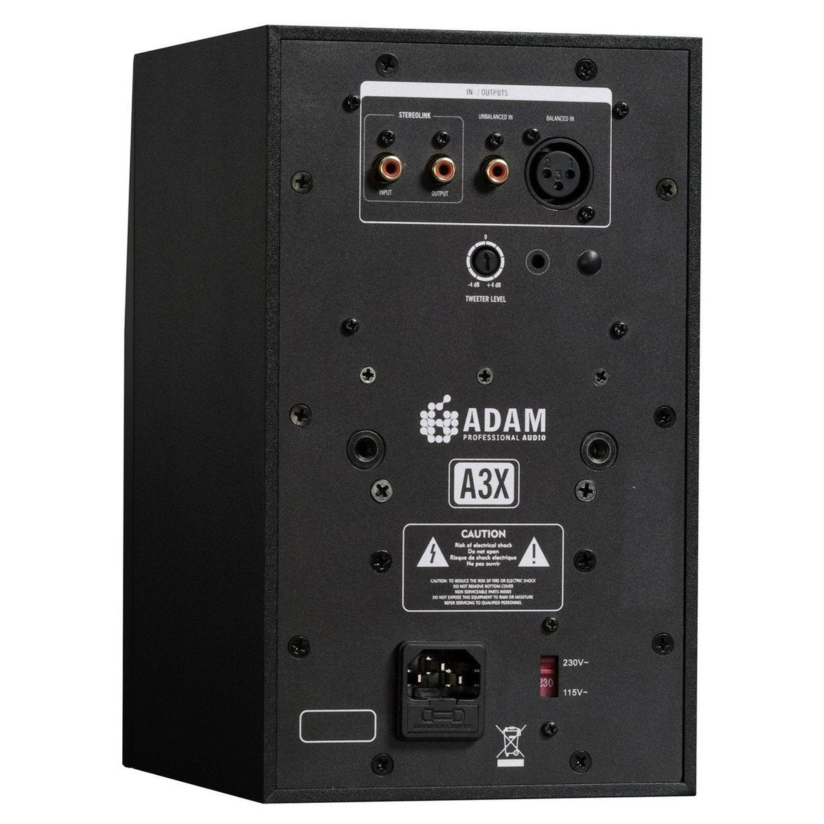 "Adam Audio A3X 4.5"" Active Studio Monitor - Pair"