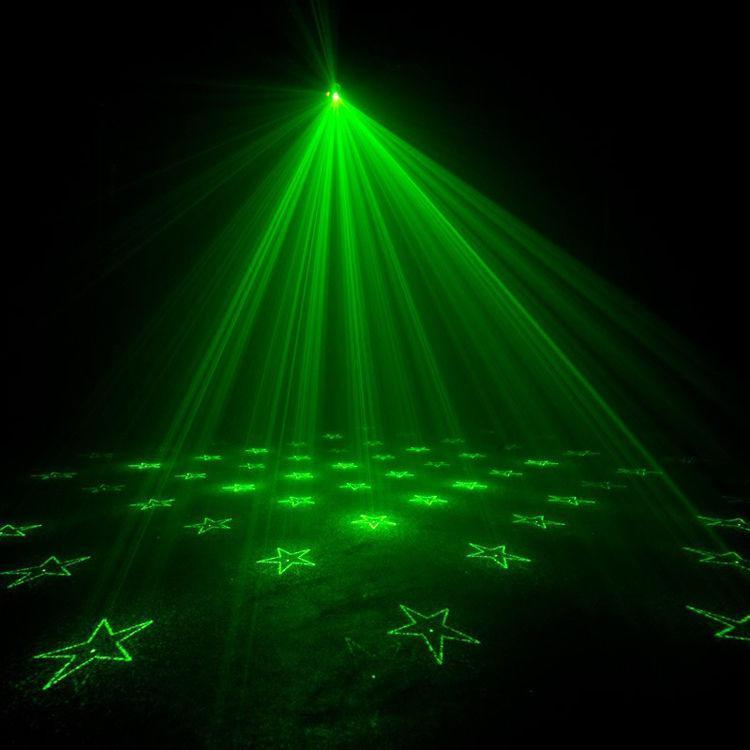 ADJ Micro Gobo II Mini Green & Red Laser