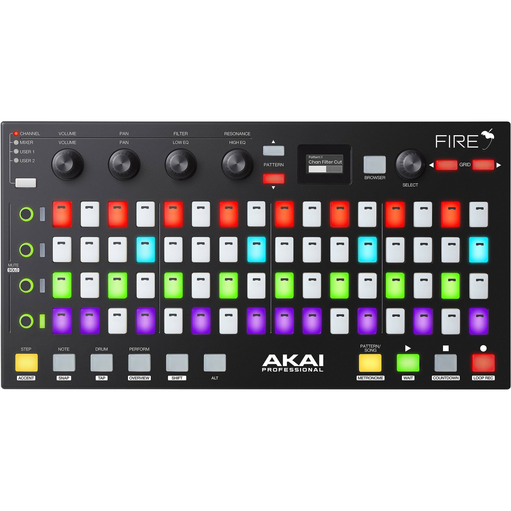 Akai Fire FL Studio Controller with Free FL Studio