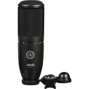 AKG P120 PLUS On-Stage Reflection Filter and Accessories