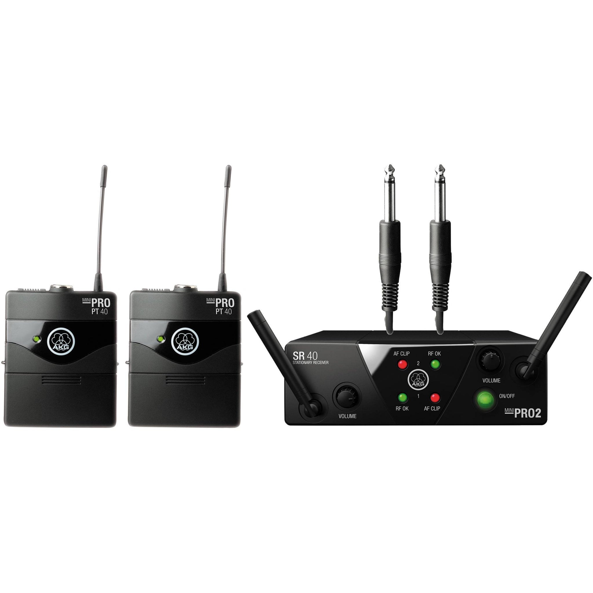 AKG WMS 40 Mini Dual Wireless Instrumental System