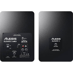 "Alesis Elevate 5 MKII 5"" Active Studio Monitors - Pair"