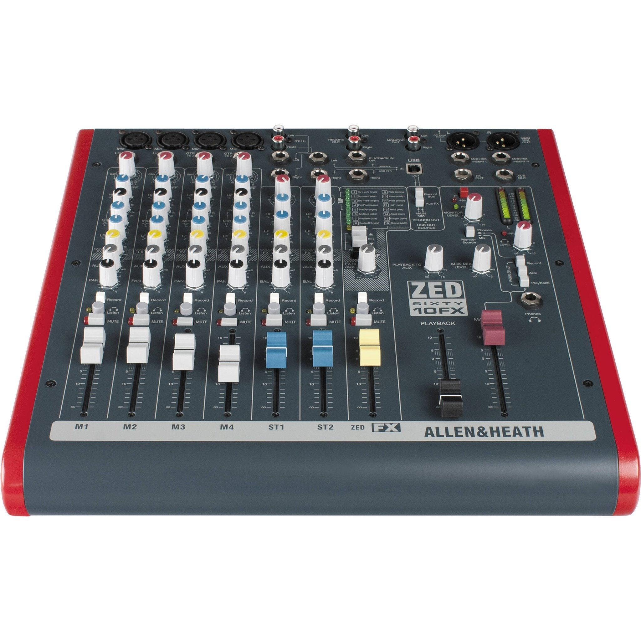 Allen and Heath ZED6010FX 6 Channel Mixer with FX and USB
