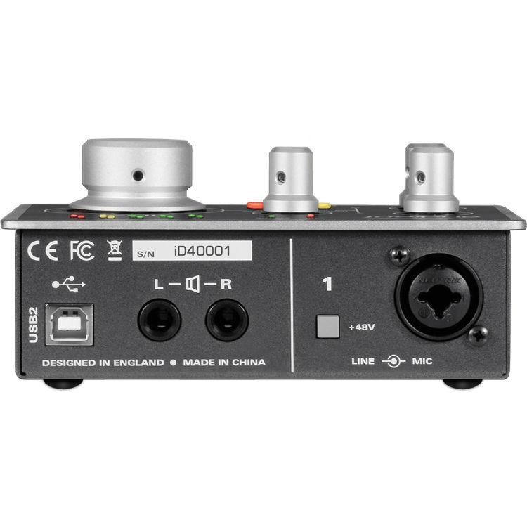 Audient iD4 High-Performance USB Audio Interface