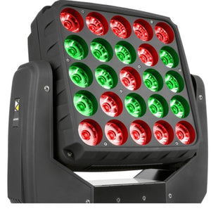 BeamZ Matrix55 LED Moving Head 2 Pieces in Flightcase