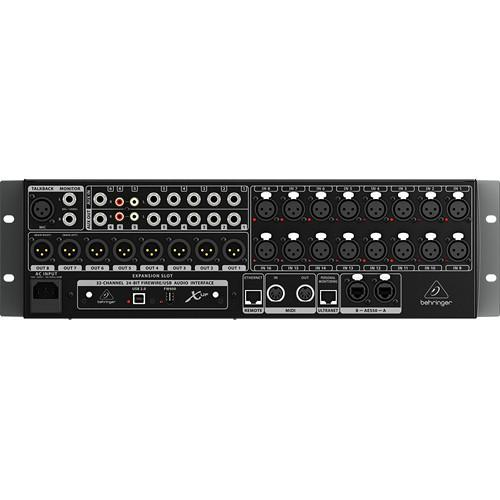 Behringer X32 Rack 40-Input, 25-Bus Digital Mixer