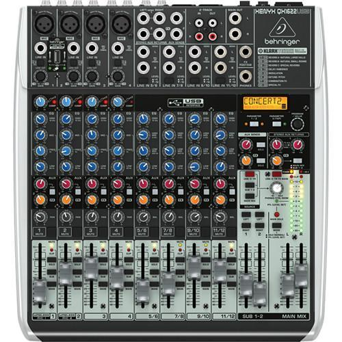 Behringer Xenyx QX1622USB w/ FX & USB Audio Interface
