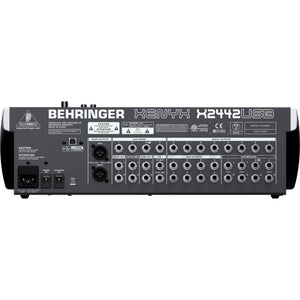 Behringer Xenyx X2442USB Mixer w/ USB & Effects