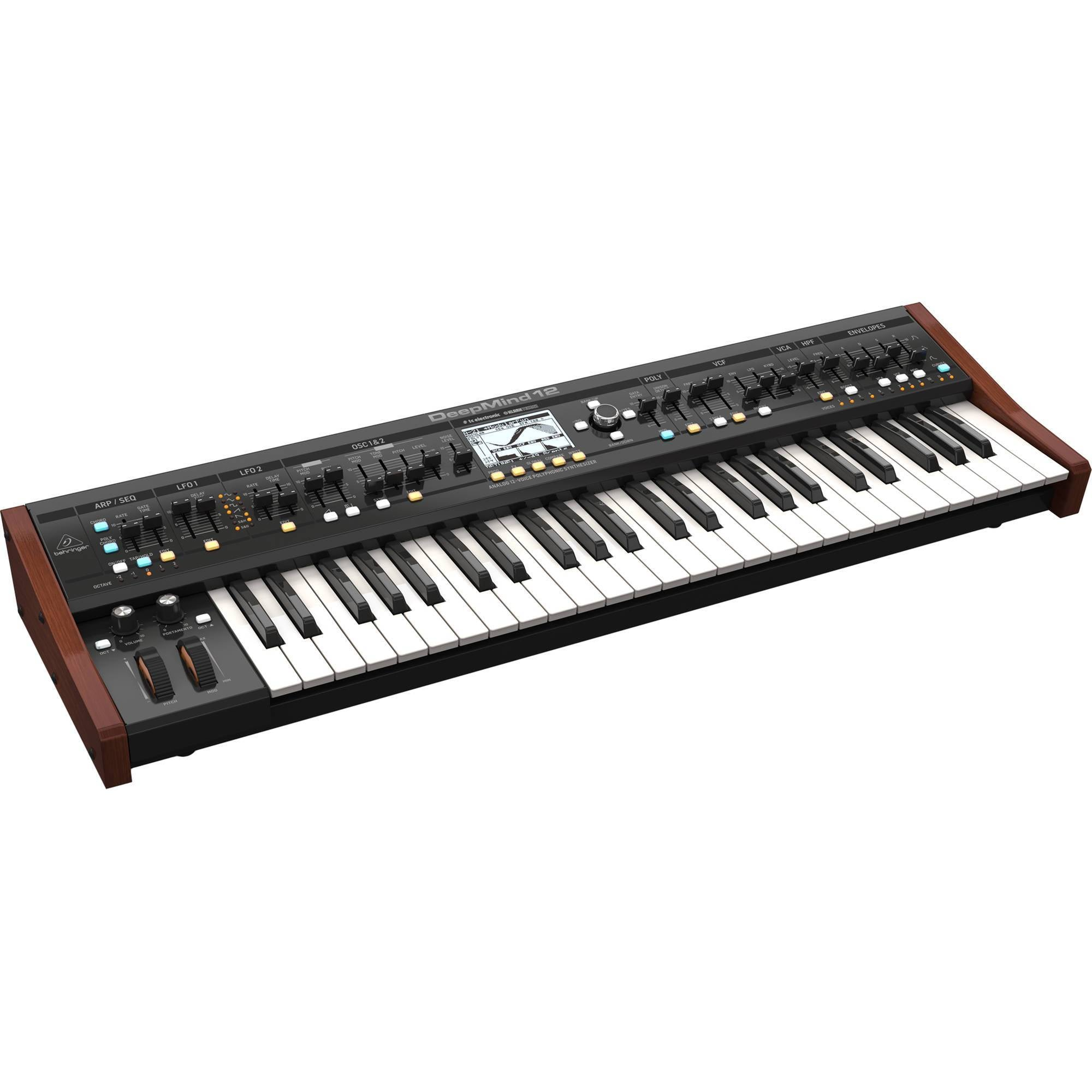 Behringer DeepMind 12 49-key 12V / Analog Synthesizer