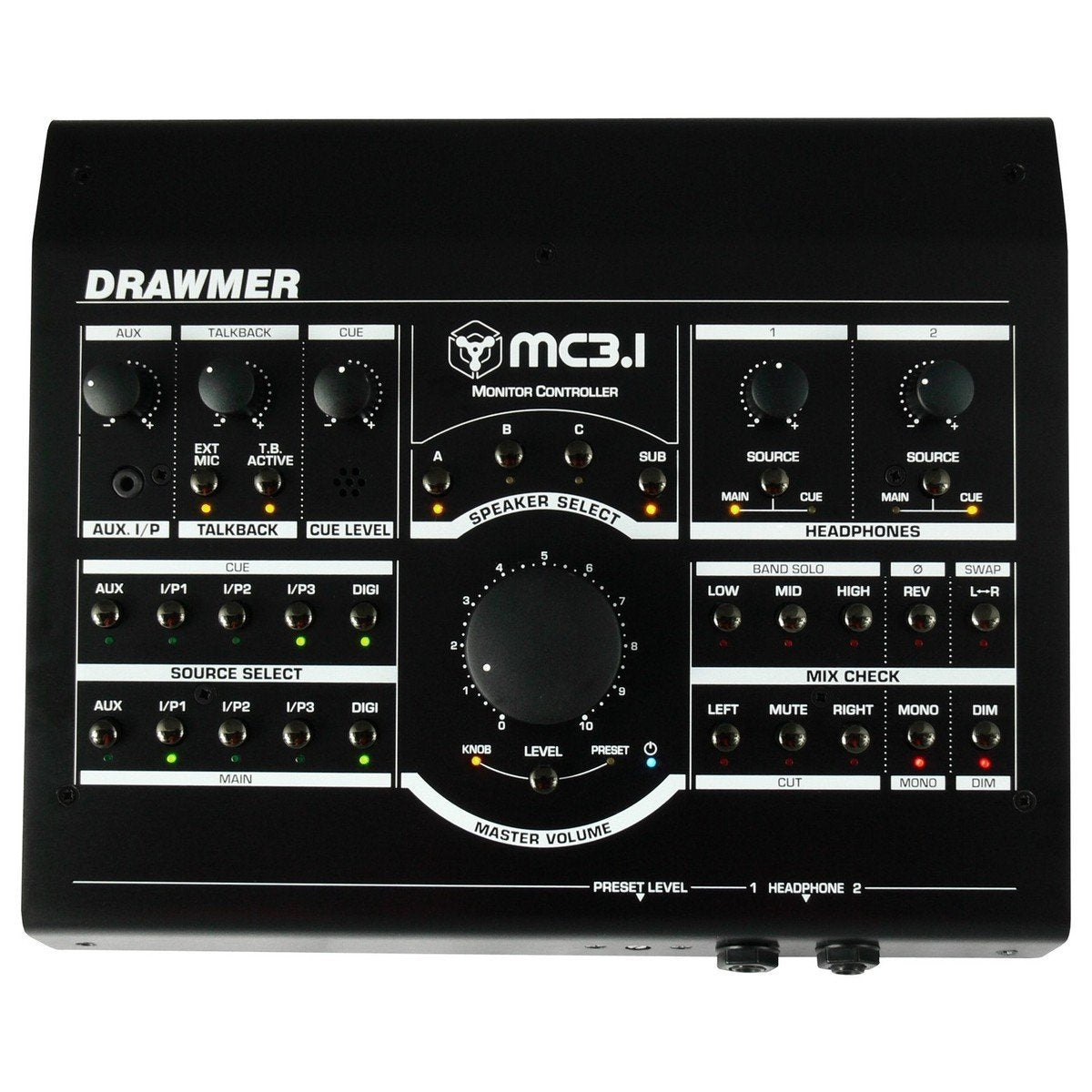 Drawmer MC3.1 Active Monitor Controller