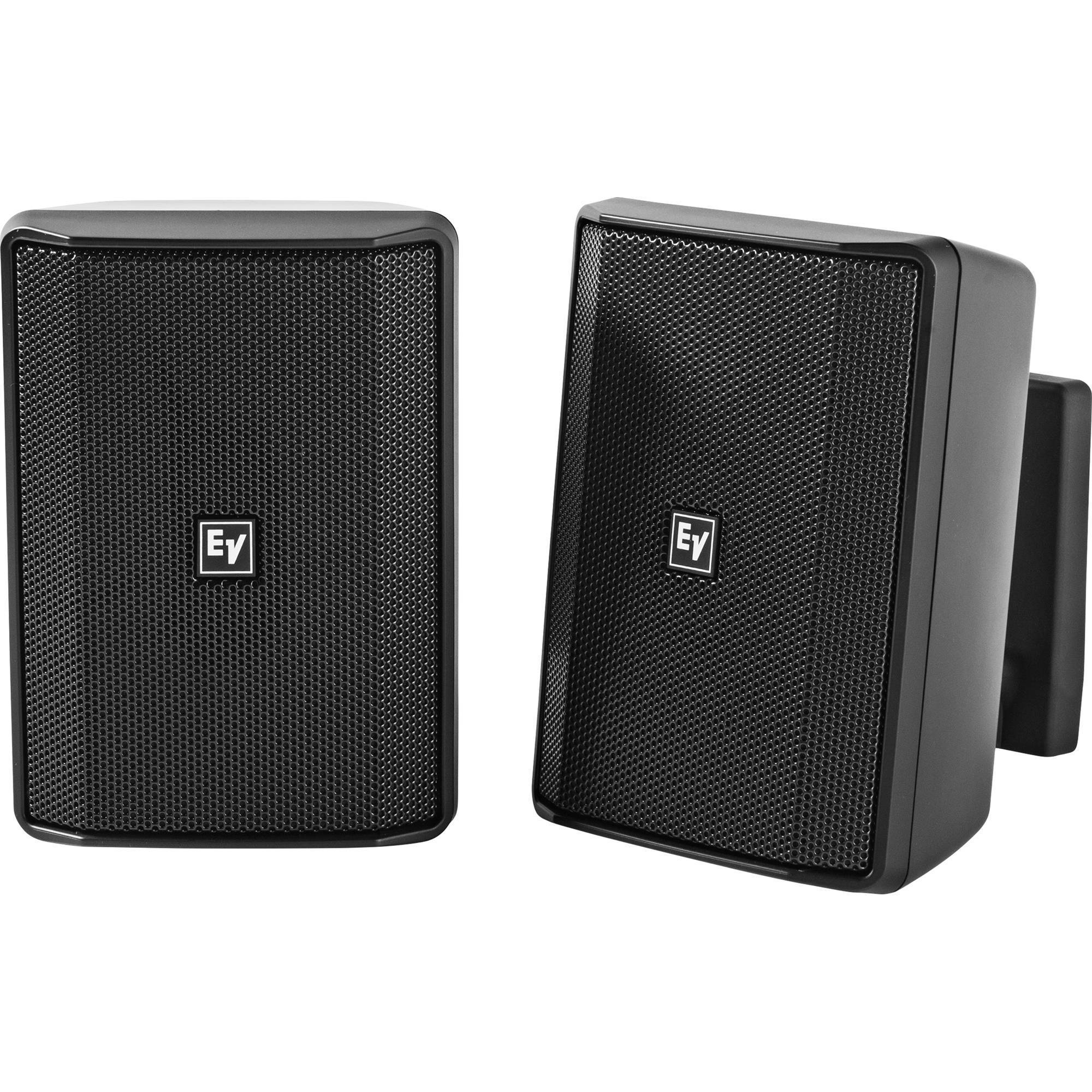 Electro-Voice EVID-S4.2 4 2-Way 8 Ohms Commercial Loudspeaker (Pair, Black)