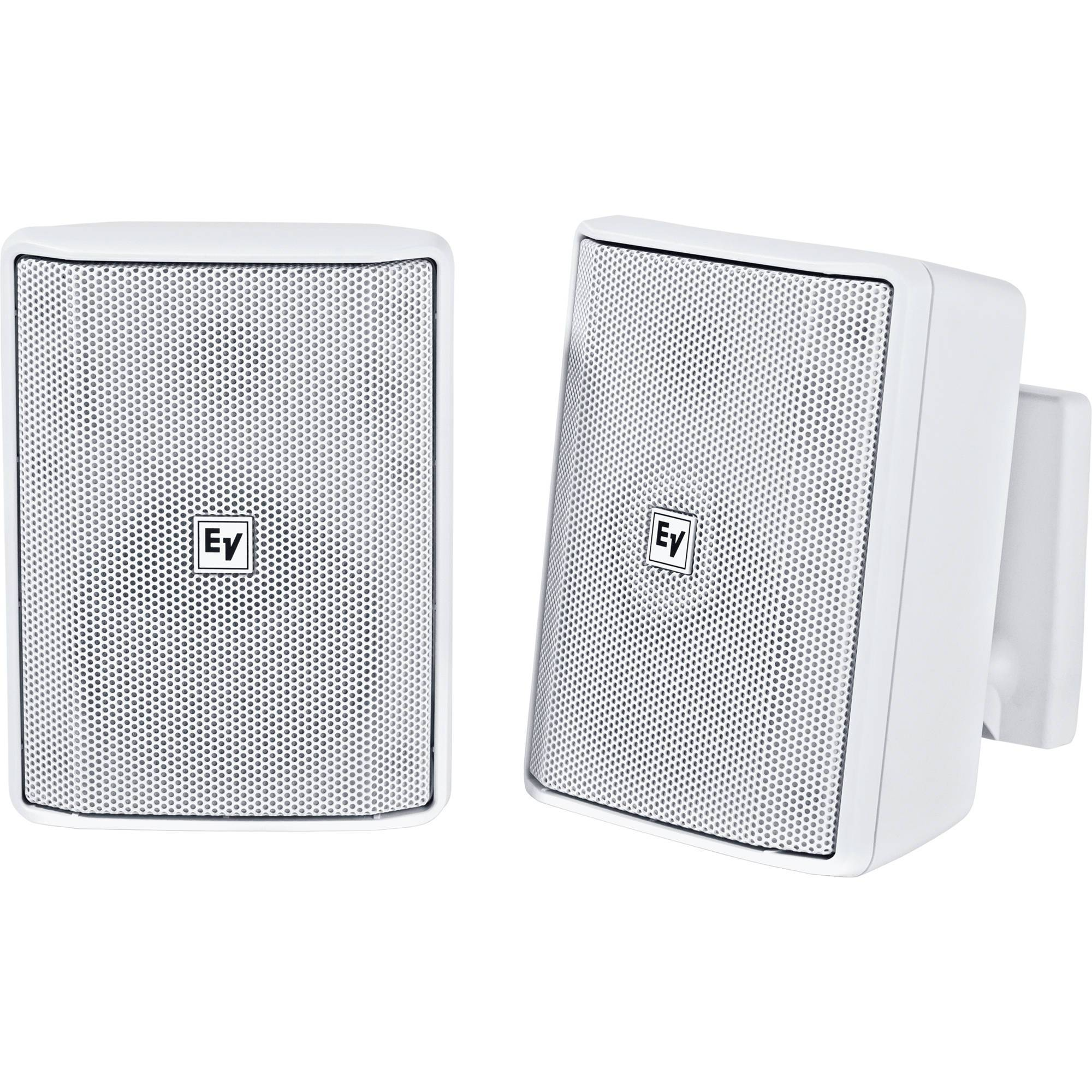 "Electro-Voice EVID-S4.2 4"" 2-Way 8 Ohms Loudspeaker (Pair, White)"
