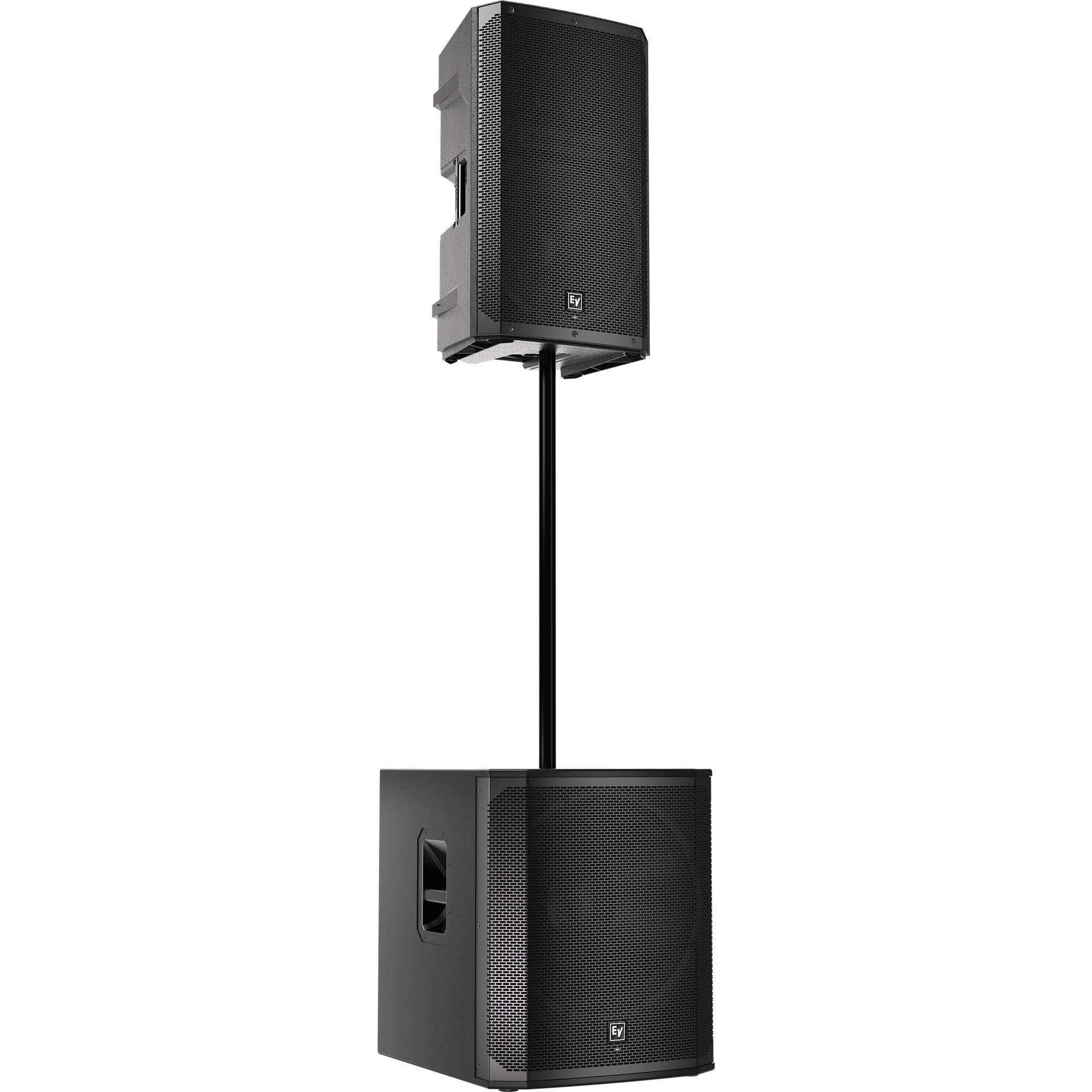 "Electro-Voice ELX200-15P 15"" 2-Way 1200W Powered Speaker (Black, Single)"