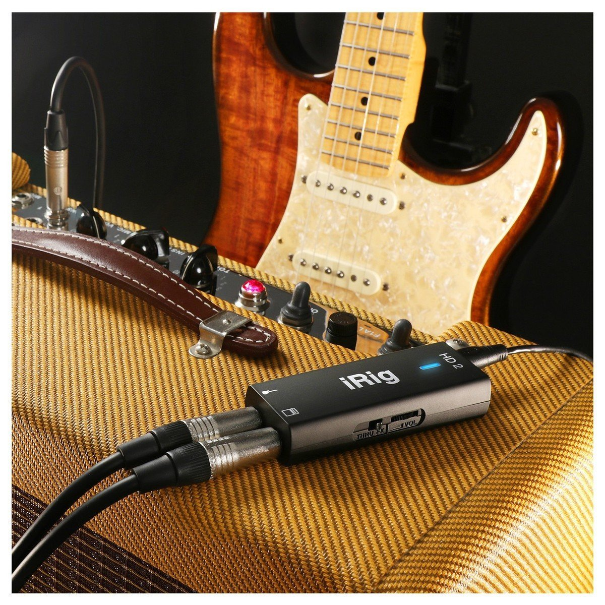 IK Multimedia iRig HD 2 - USB Guitar Interface