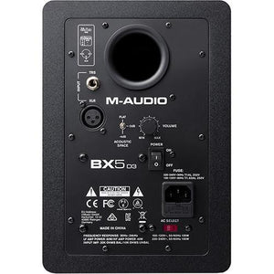 "M-Audio BX5 D3 5"" Active Studio Monitor - PAIR"