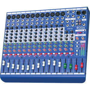 Midas DM16 16-Input Analog Mixing Desk