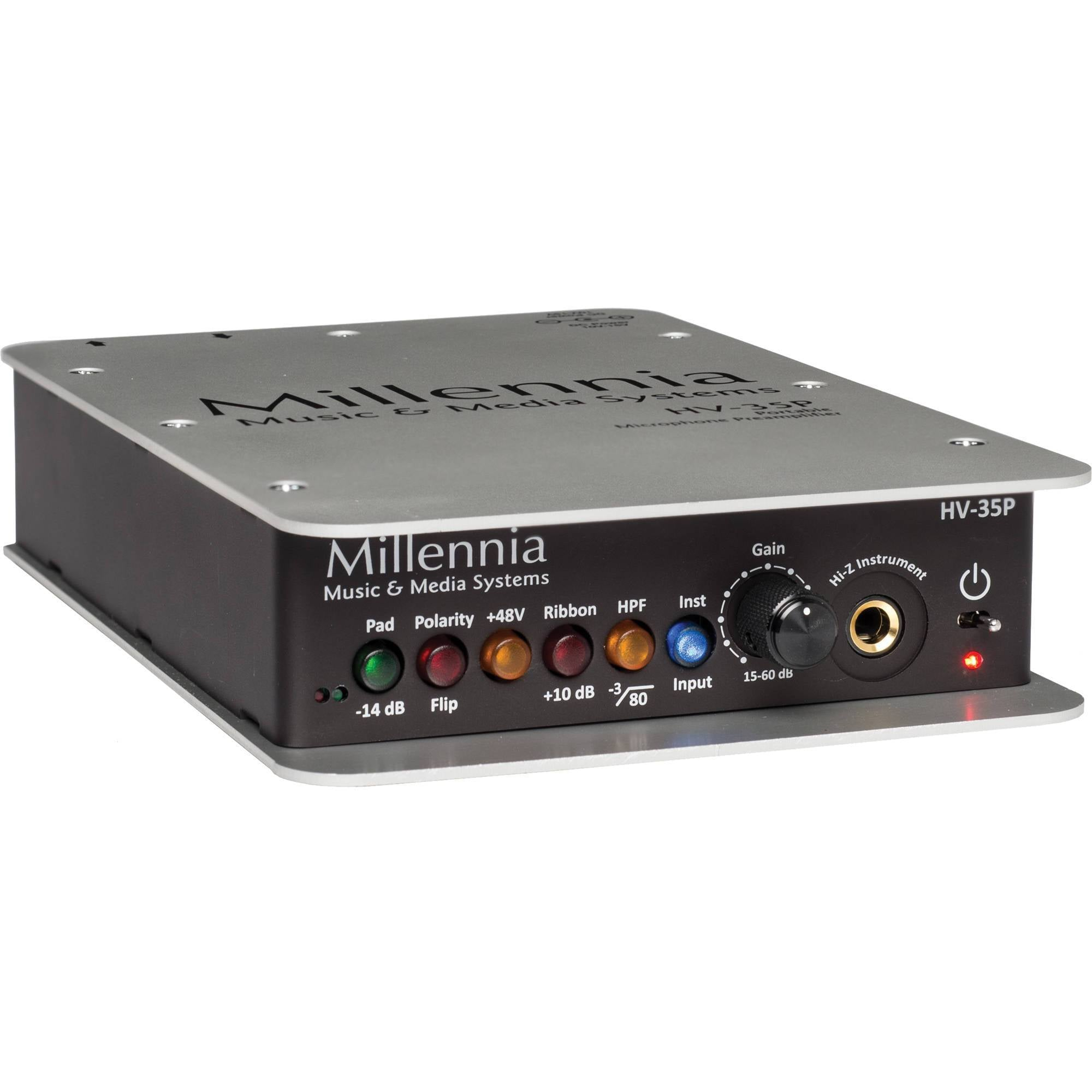 Millennia HV-35P 1 Channel Microphone Preamplifier & DI Box