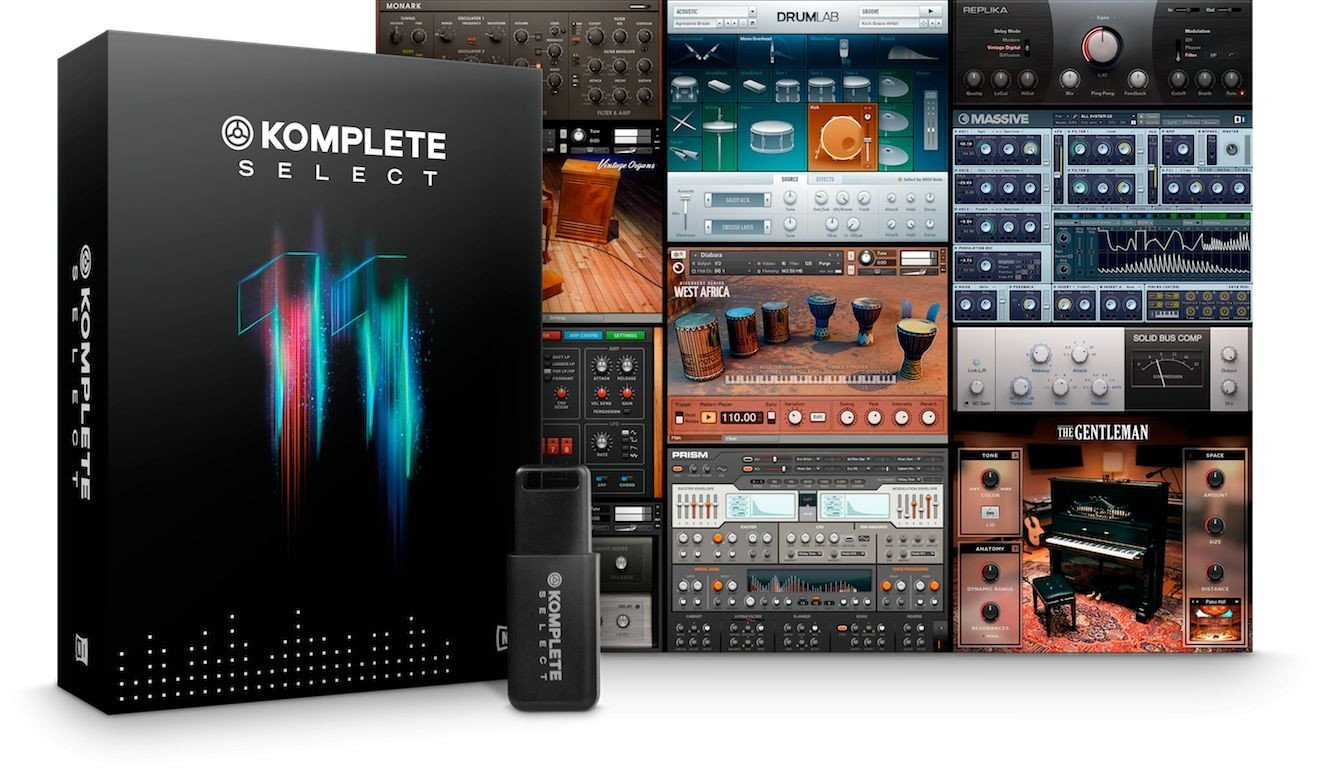 Native Instruments Komplete 11 Select Plug-in Suite