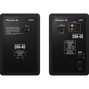 "Pioneer DM-40 - 4"" Two-Way Active Monitor (Pair)"
