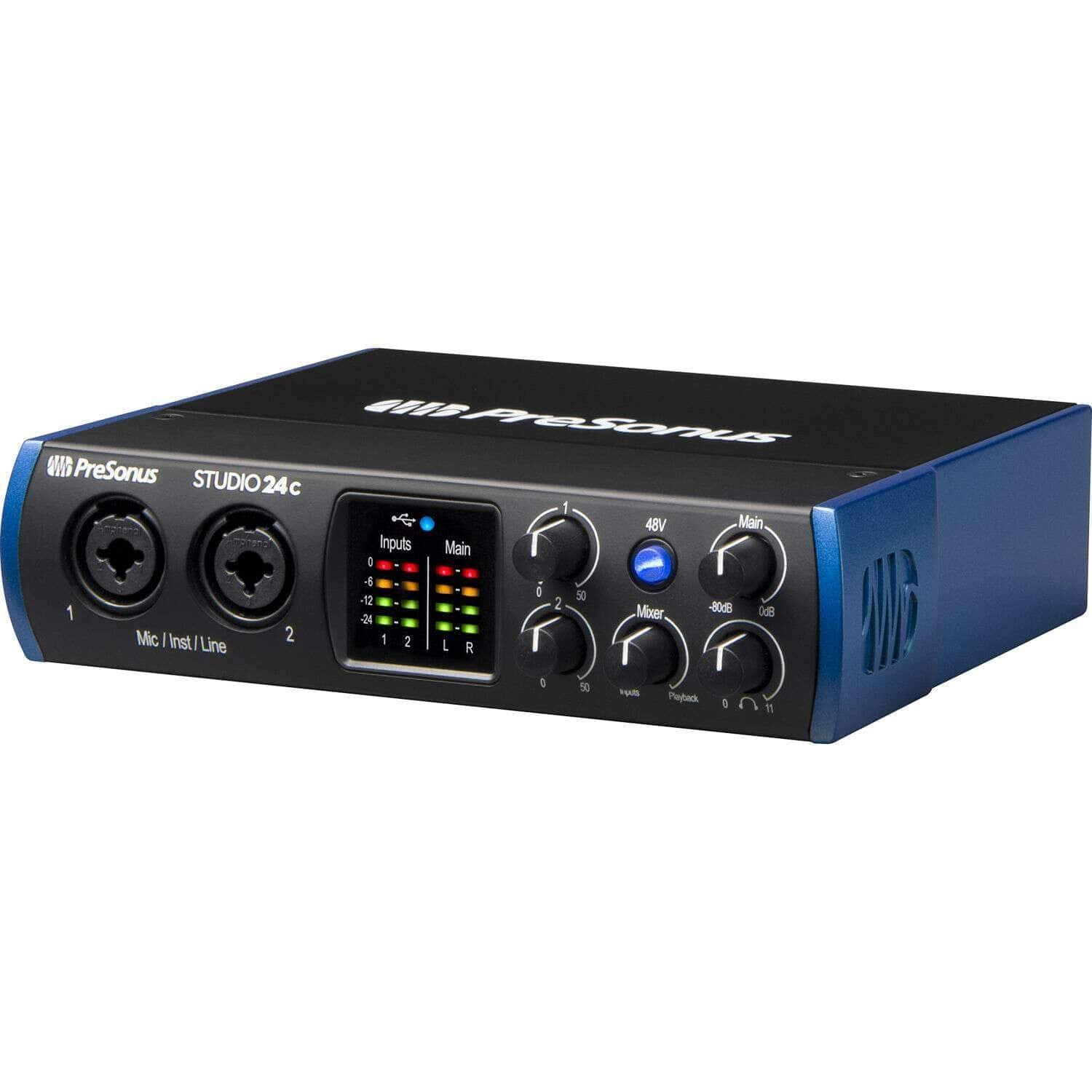 PreSonus Studio 24c 2x2 USB Type-C Audio Interface