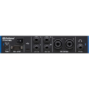 PreSonus Studio 68c 6x6 USB Type-C Audio Interface