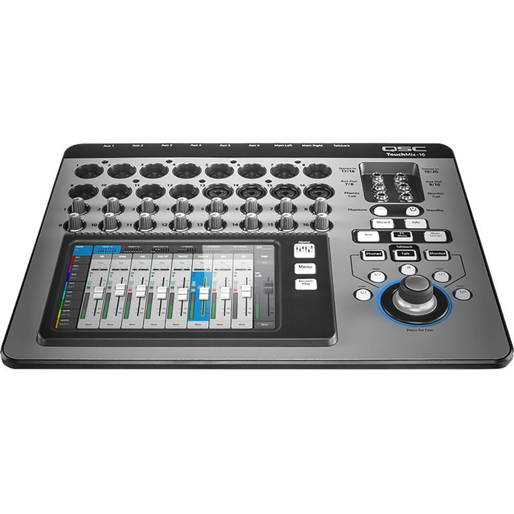 QSC TouchMix-16 Compact Digital Mixer with Touchscreen