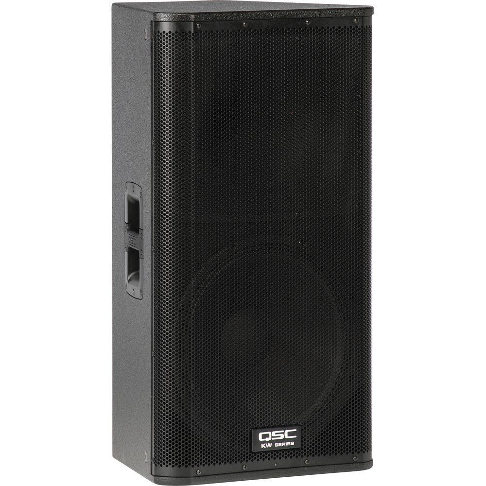 "QSC KW152 1000W 15"" Active 2-Way Loudspeaker"