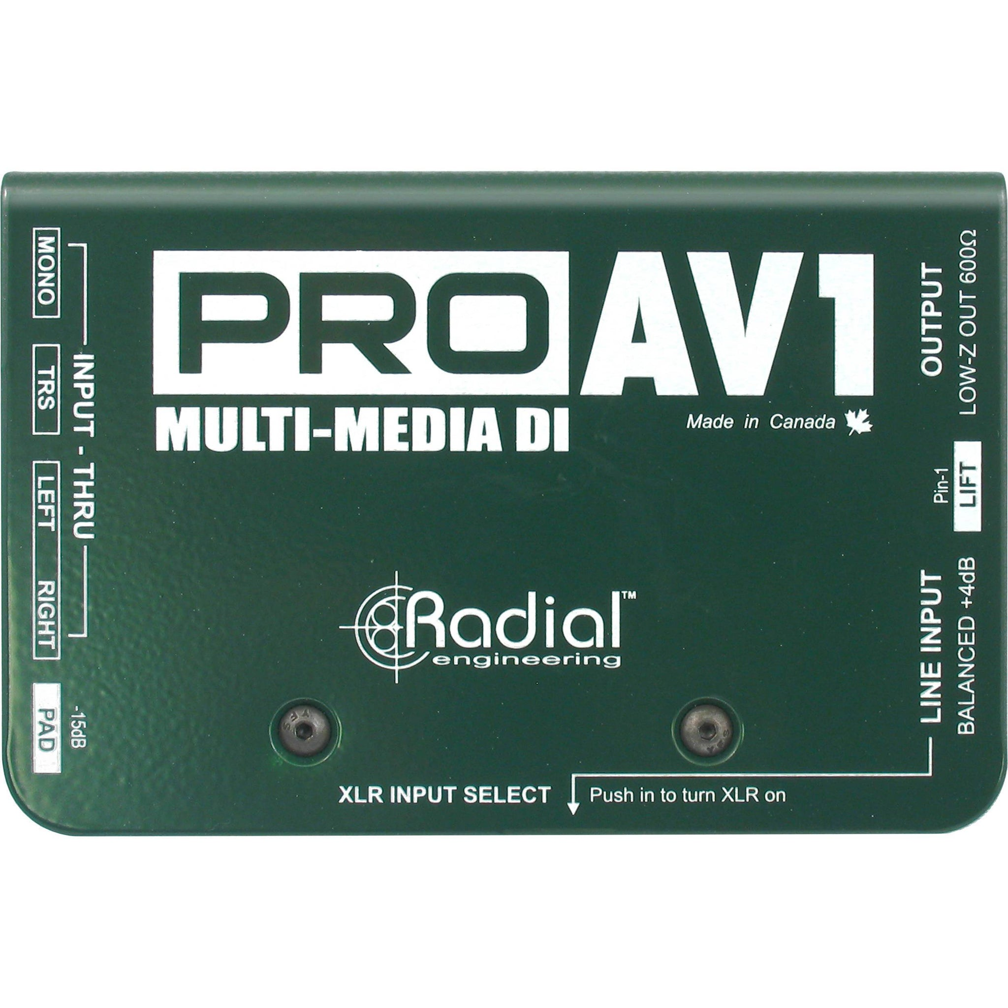 Radial Engineering ProAV1