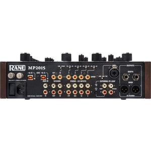RANE MP2015 4-Channel Rotary DJ Mixer with Dual USB Ports