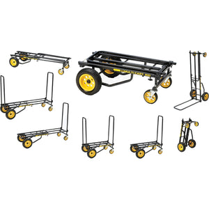 RocknRoller MultiCart R10RT 8-in-1 Equipment Cart