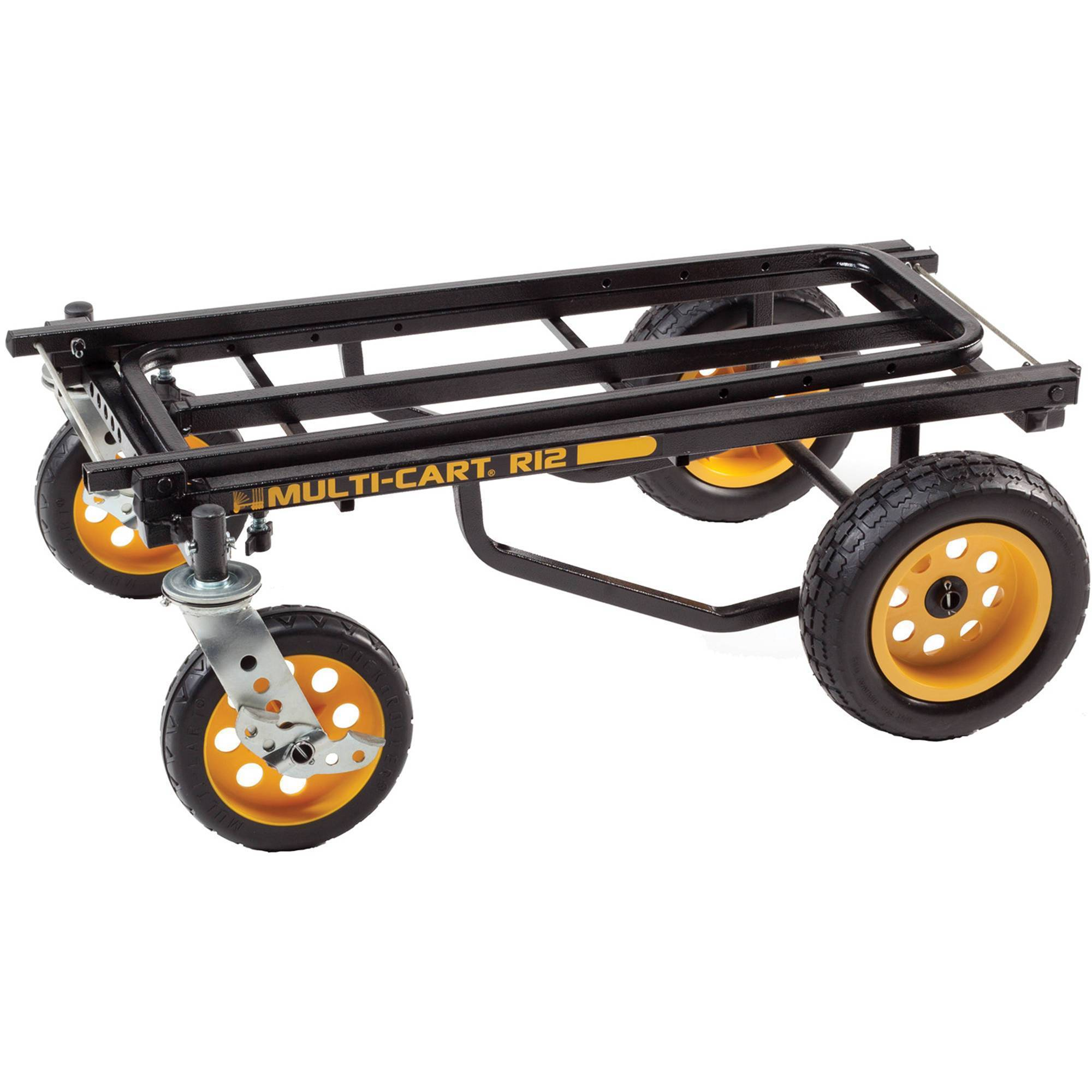 RocknRoller MultiCart R12RT 8-in-1 Equipment Cart