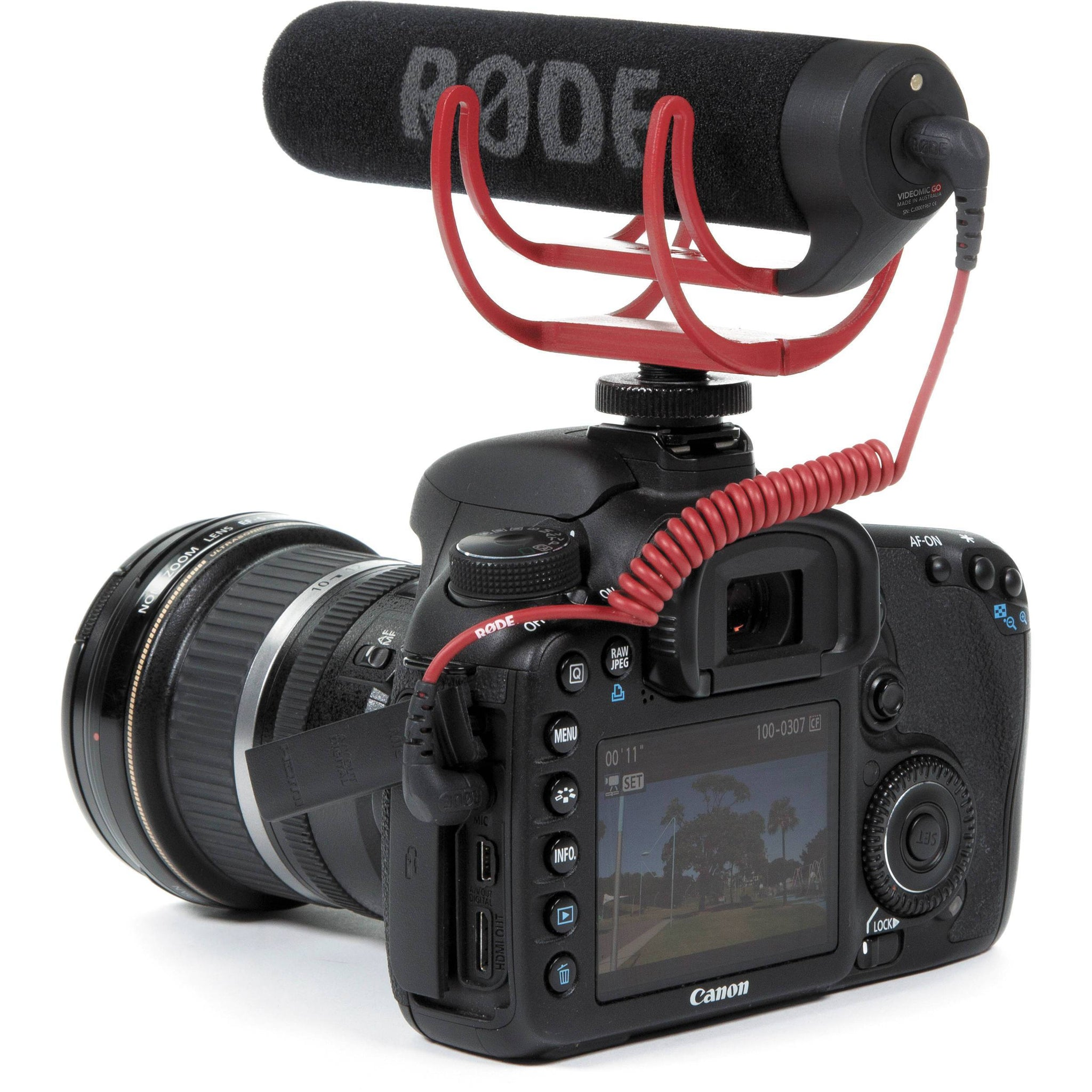 Rode VideoMic GO Lightweight Directional Shotgun Video Microphone