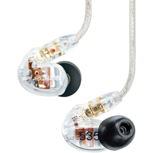 Shure SE535 Sound Isolating Earphones Clear