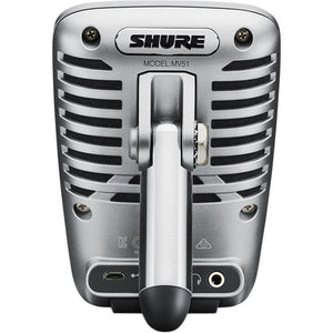 Shure MV51 iOS and USB Condenser Microphone