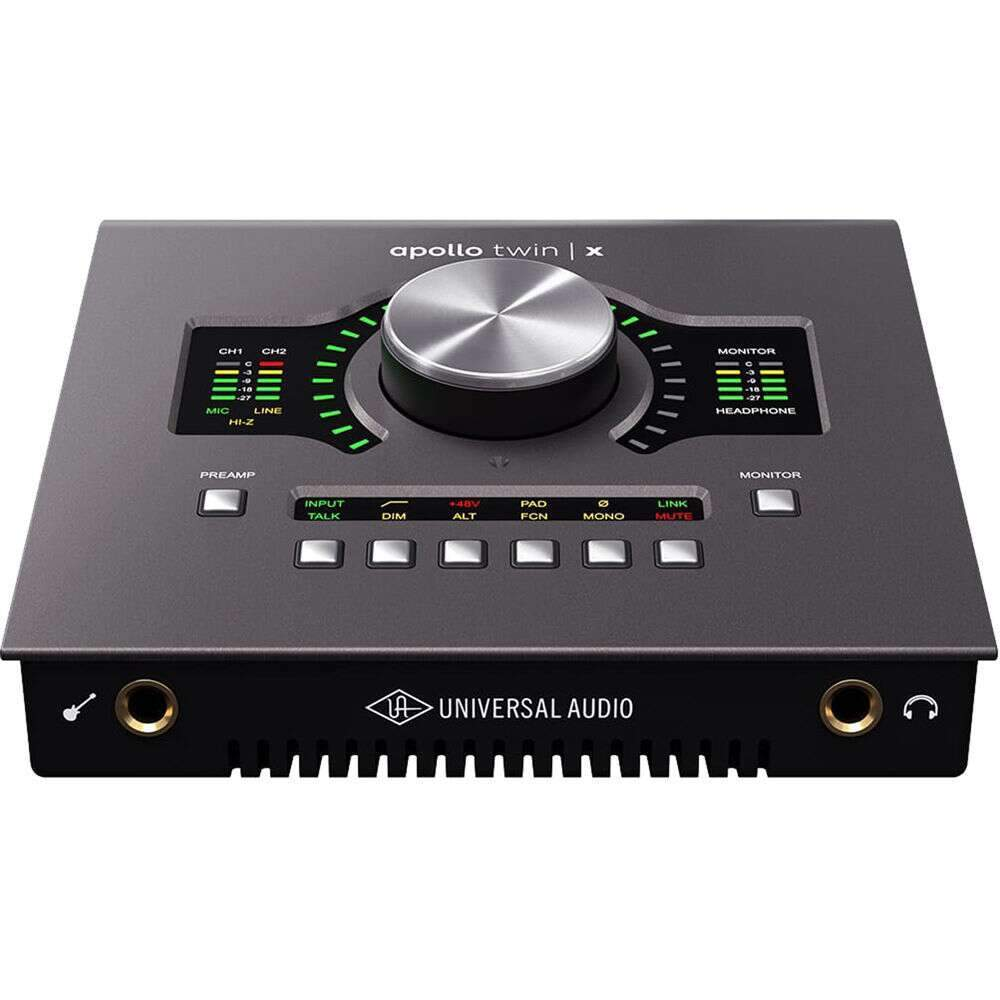 Universal Audio Apollo Twin X QUAD TB 3 Audio Interface with UAD Processing