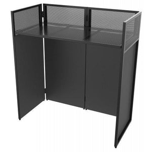 Vonyx DB4 Pro Foldable DJ Booth System with 4 screens