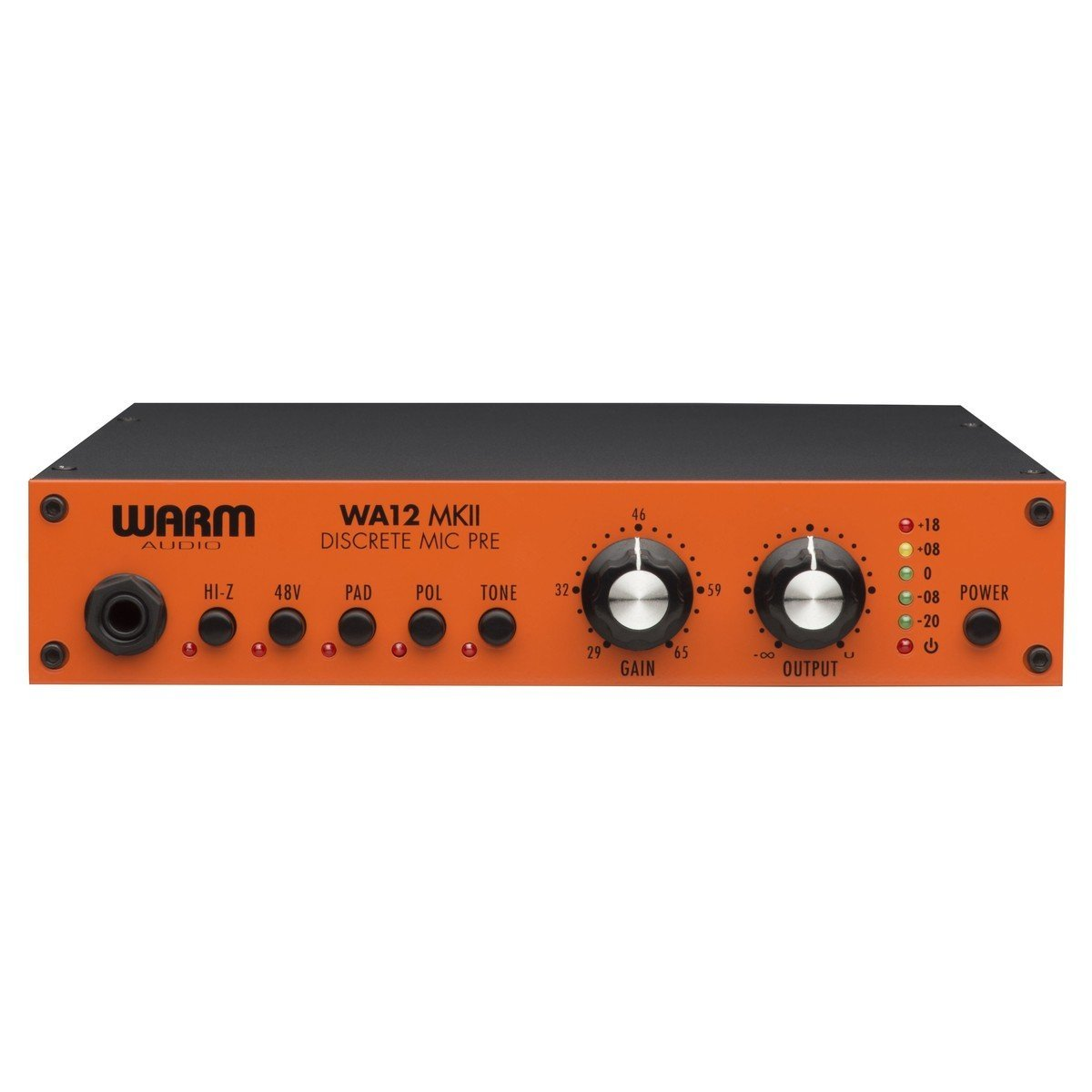 Warm Audio WA12 MKII 1 Channel Microphone / Instrument Preamp