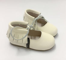 Ballerina hard sole- Cream
